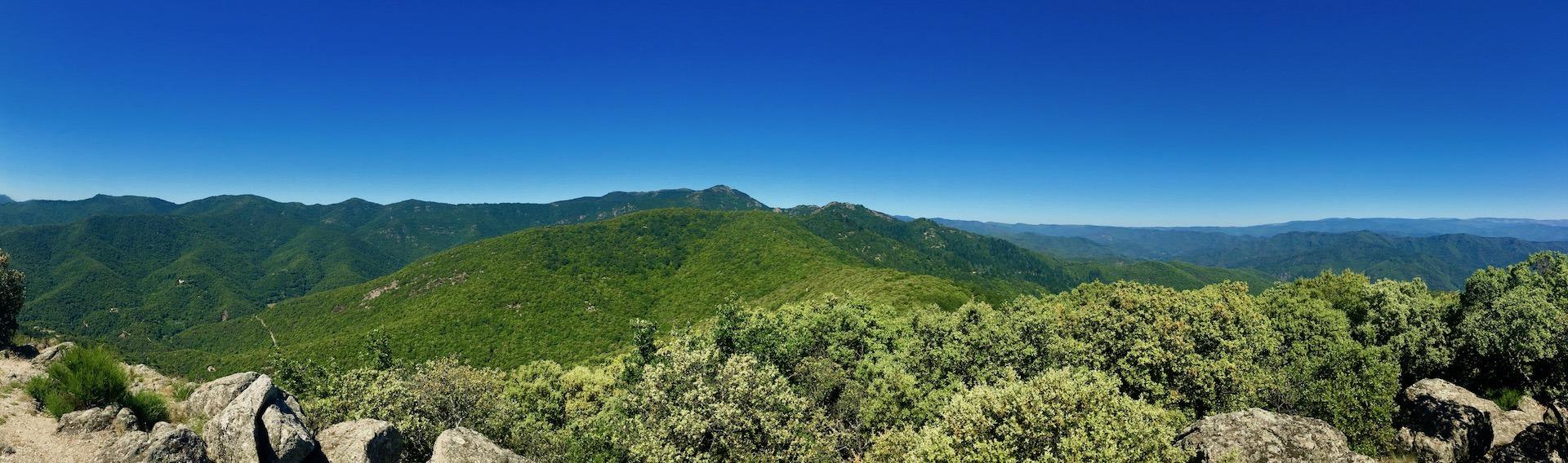 Randonnée col du Mercou Mauripe Soudorgues